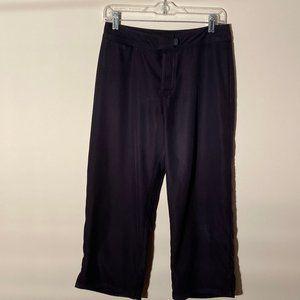 Patagonia Women's Pataloha Crop Pants Sz 6 Black
